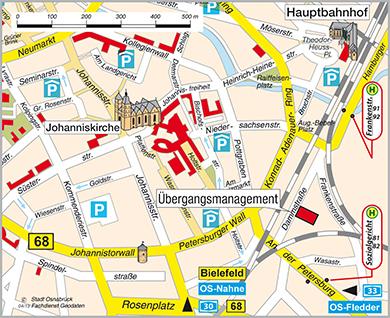Lage Plan Karte