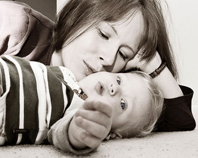 Das Projekt: Junge , alleinerziehende Mütter